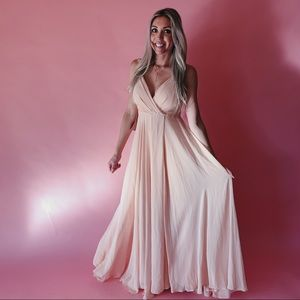 BHLDN 'Eva Dress' Chiffon Bridesmaid Dress